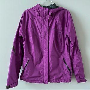 Columbia purple rain jacket